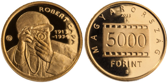 Robert Capa Gold Coin
