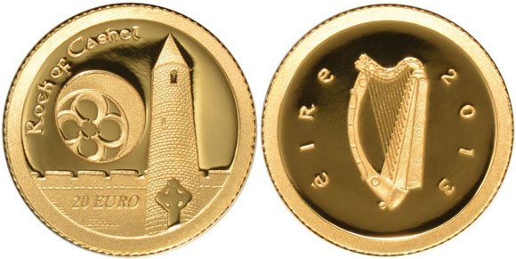 2013 Rock of Cashel Gold Coin