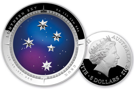 2012 Southern Cross Coin