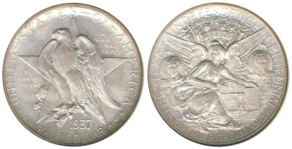 Texas Centennial Half Dollar