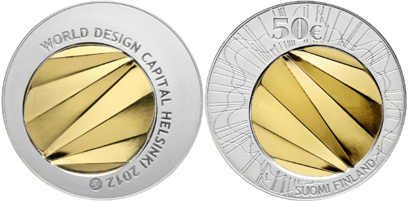 helsinki world design capital coin