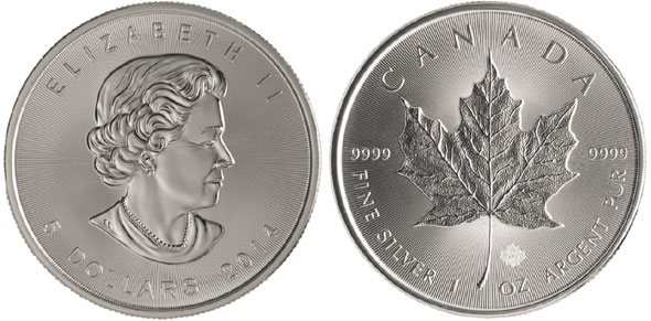 2014 Silver Maple Leaf