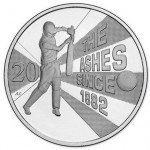 "Australia Releases ""The Ashes"" Cricket 20 Cent Coin"