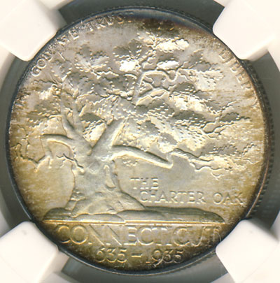 1935 Connecticut Half Dollar