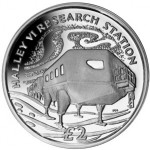 British Antarctic Territory: Halley Research Station Featured on New Coins