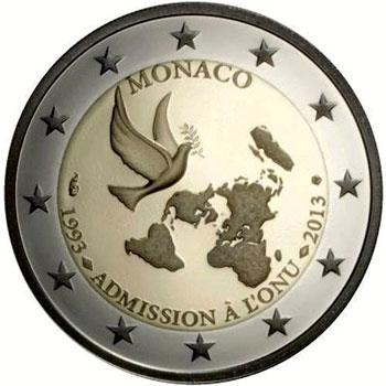monaco 2 euro coin
