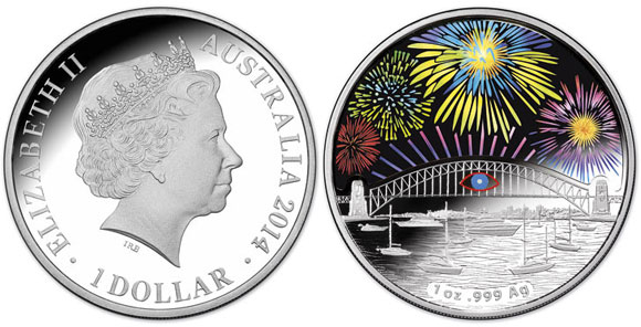 2013 Sydney Holographic Coin