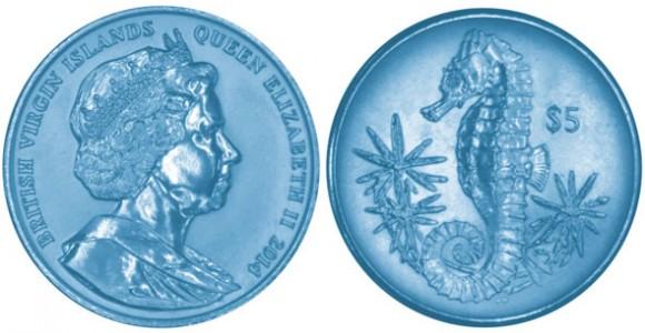 Titanium Seahorse Coin