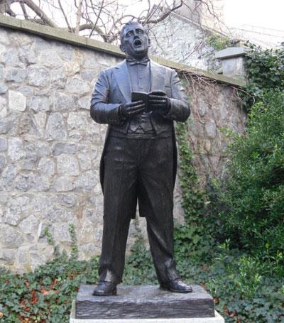 John McCormack memorial statue