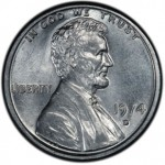 1974-D Aluminum Lincoln Cent on Display at Long Beach Expo