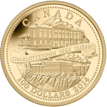 charlottetown-conference-gold coin