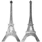 Eiffel Tower Shaped Coin Celebrates 125th Anniversary