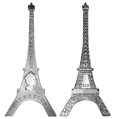 Eiffel Tower Coin