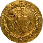 Finest Certified 1787 Brasher Doubloon Realizes $4,582,500