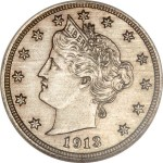 Hawaii Five-O 1913 Liberty Nickel Realizes $3,290,000