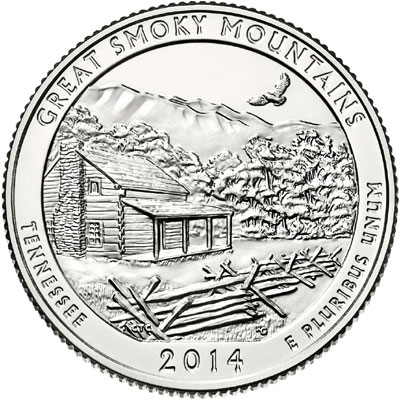 Great Smoky Mountains Quarter