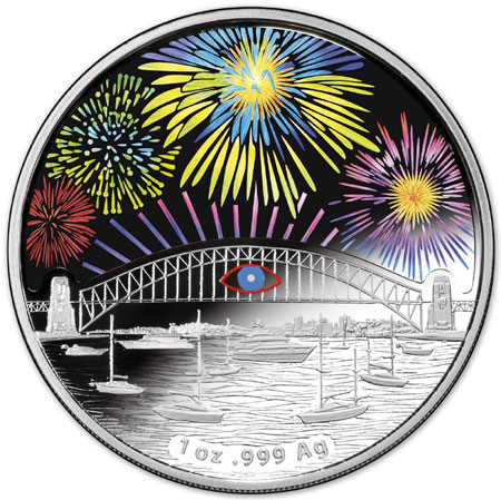 Sydney Harbor Holographic Coin