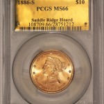 "PCGS Certifies ""Saddle Ridge Hoard"" of Buried Treasure Gold Coins"