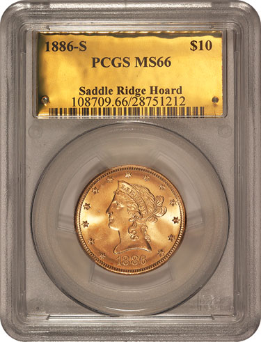 1886-S $10 Gold Coin