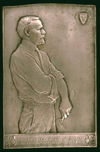 Adolph Alexander Weinman by Anthony de Francisci