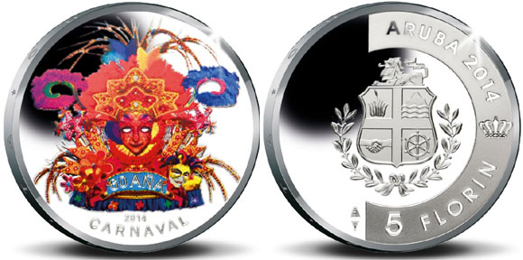 Aruba Carnival Coin