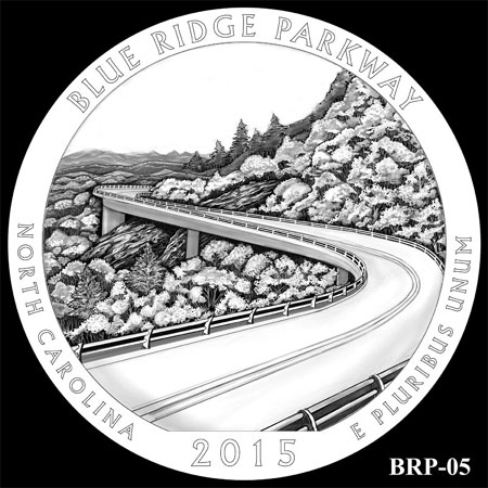 2015 Blue Ridge Parkway Quarter