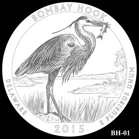 2015 Bombay Hok National Wildlife Refuge Quarter