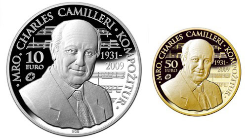 Ccharles Camilleri Gold and Silver Coins