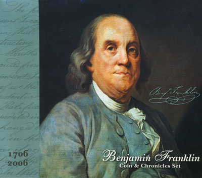 Benjamin Franklin Coin & Chronicles Set