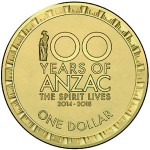 ANZAC Centenary Remembered on Australian Dollar Coin