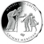 Hansel and Gretel Depicted on New German Collector Coin