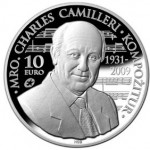 Malta: 2014 Charles Camilleri Gold and Silver Commemorative Coins