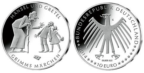 Hansel and Gretel Coin