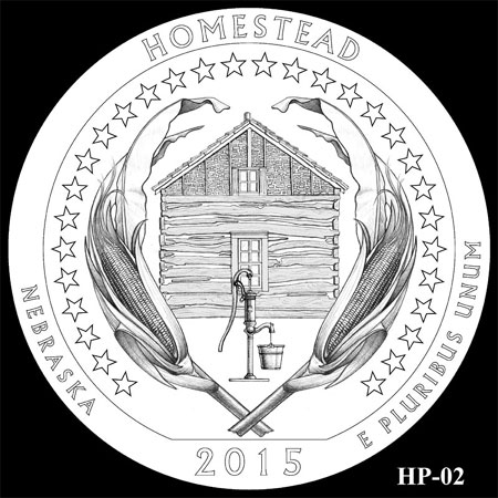 2015 Homestead National Monument of American Quarter