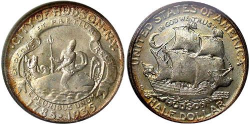 1935 Hudson Half Dollar