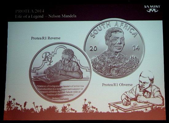 2014 Nelson Mandela Coin