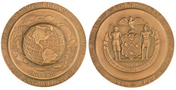 New York World's Fair Medal