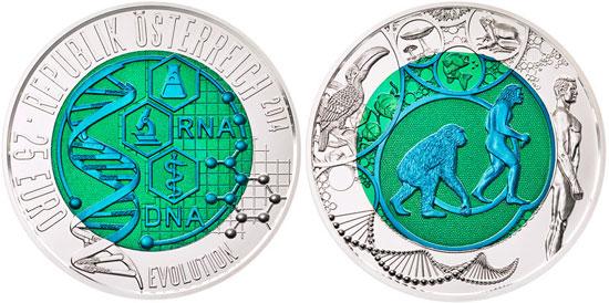 Austrian Mint Silver & Niobium Coin
