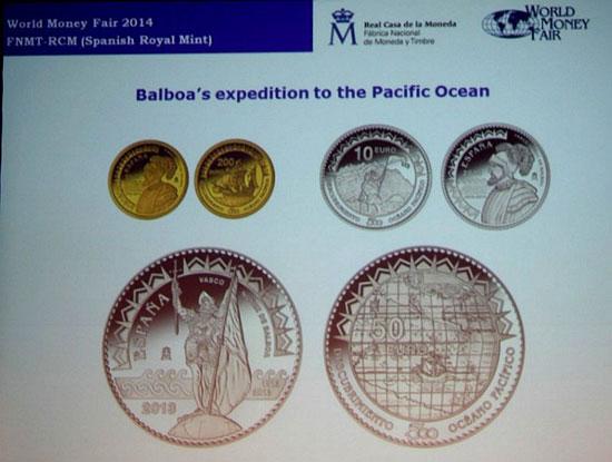 Spain Balboa Coin