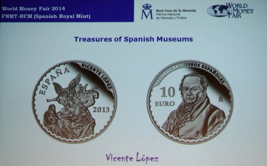 Spain Treasures Coin Series