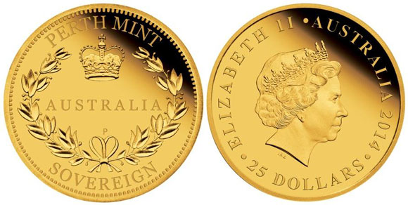 2014 Australian Gold Sovereign