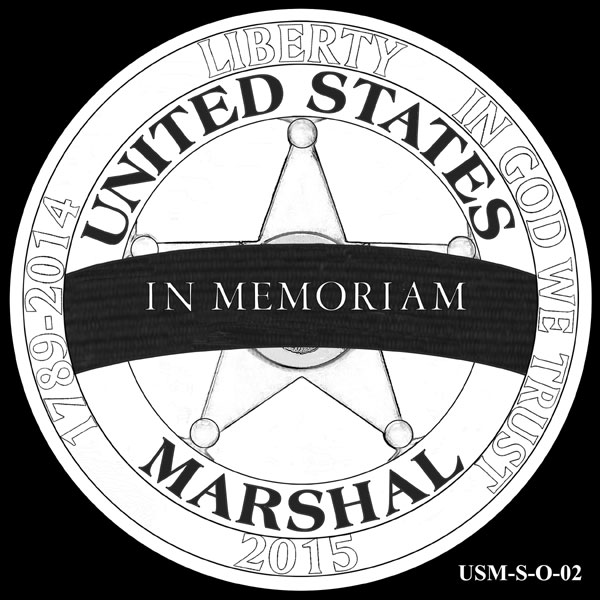 CCAC Recommendations for 2015 US Marshals Service Commemorative Coins