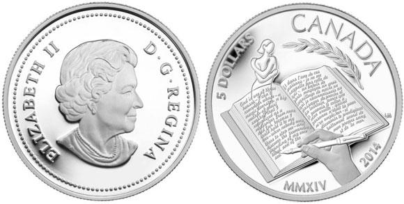 Alice Munro Silver Coin