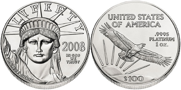 American Platinum Eagle bullion coins