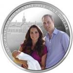 New Zealand 2014 Royal Visit Silver Coin