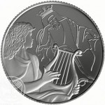 "Israel ""David Playing for Saul"" Gold and Silver Coins Launched"