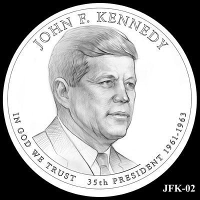 John F. Kennedy Presidential Dollar
