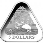 ANZAC Centennial Observed with New Triangular Silver Coin