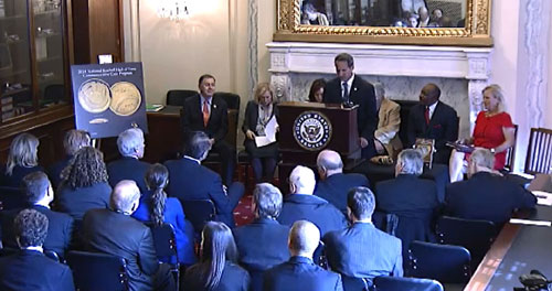 Baseball Hall of Fame Launch Ceremony in Washington, D.C.
