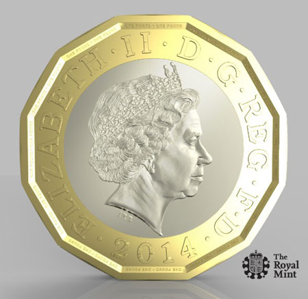 Prototype One Pound Coin